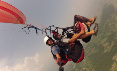Paragliding in Nepal Pokhara